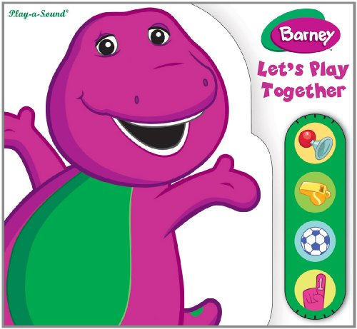 9781450808590: Barney: Let's Play Together by Editors of Publications International Ltd. (2011) Board book