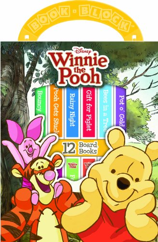 12-Book Winnie the Pooh Library: Disney Storybook Artists; Editors of Publications International ...