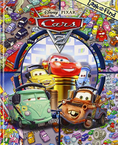 9781450809214: Look and Find: Disney Cars 2