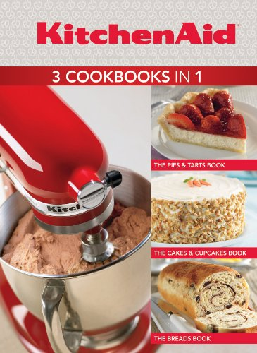 9781450810098: KitchenAid 3 Cookbooks in 1: Pies & Tarts; Cakes & Cupcakes; Breads