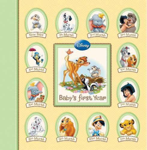 9781450810128: Disney Memory Keeper Album: Baby's First Year 24 Pocketfuls of Memories Book