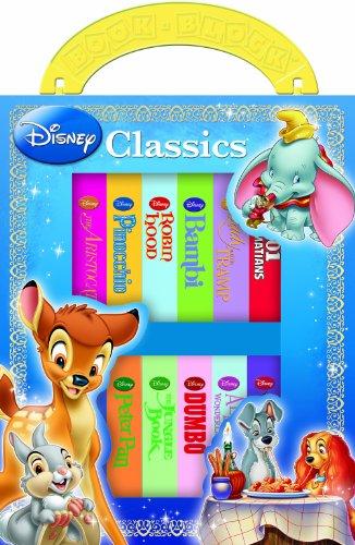 Disney Classics 12 Book Block: Editors of Publications International Ltd.