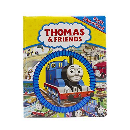 9781450811392: Thomas & Friends - First Look and Find Activity Book - PI Kids