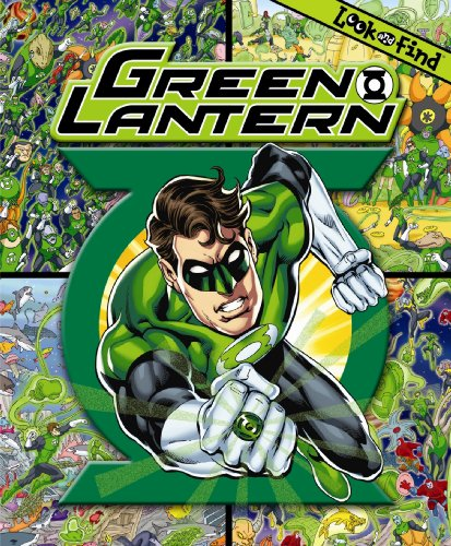 Green Lantern a Look and Find Book