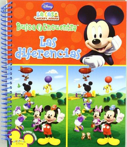 9781450812108: BUSCA Y ENCUENTRA LAS DIFERENCIAS - LA CASA DE MICKEY MOUSE (Spanish Edition)