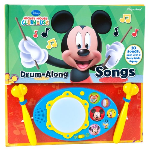 9781450812405: Mickey Mouse Clubhouse Drum-Along Songs