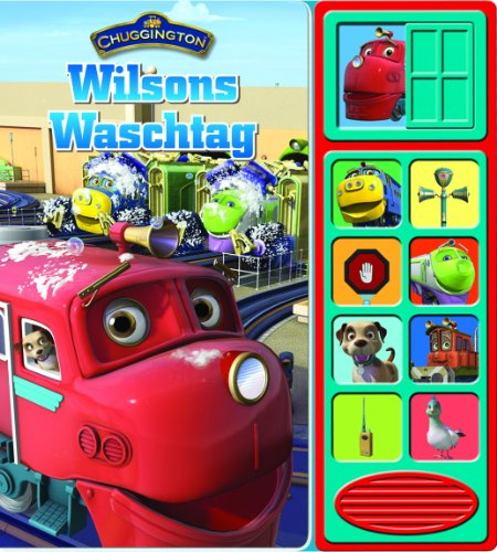 9781450813365: Chuggington - Wilsons Waschtag, Pappbilderbuch mit Klappen und Klangleiste