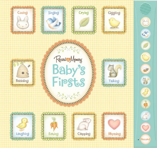 Record a Memory: Baby's Firsts (9781450813426) by Editors of New Seasons; Editors of Publications International Ltd.
