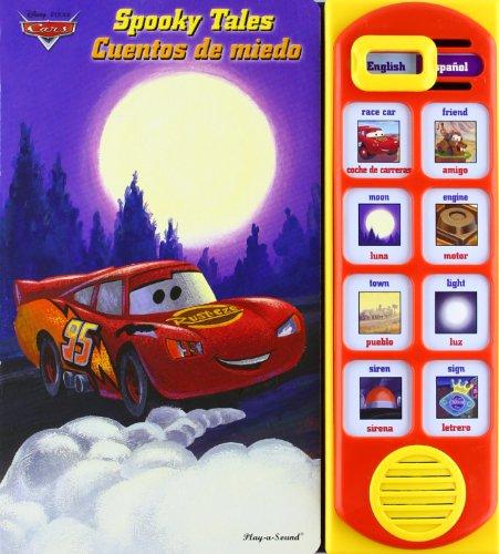 9781450814010: Disney Pixcar Cars: Spooky Tales / Cuentos de miedo (English Spanish Sound Book)