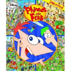9781450814546: Look and Find: Phineas and Ferb (Softcover)