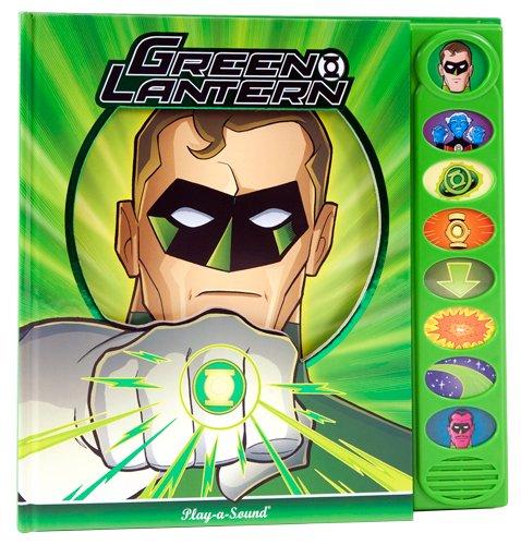 9781450816069: Green Lantern Play-a-Sound Book by Mark Rader (2011-05-04)