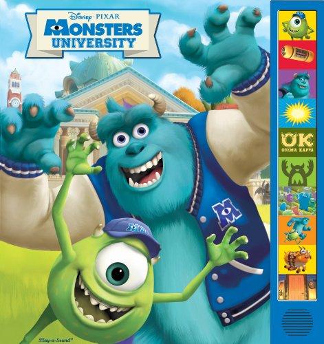 9781450816076: Disney Pixar: Monsters University: Play-a-Sound Book