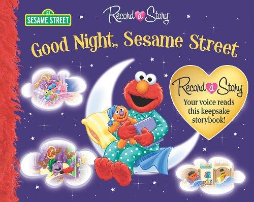 Record a Story Good Night Sesame Street