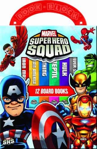 Marvel: Super Hero Squad (12 Board Book