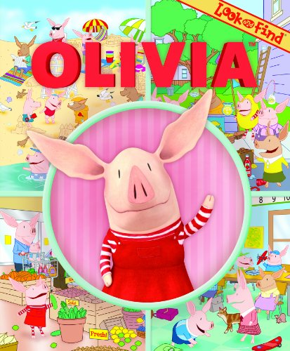 Look and Find: Olivia (1450819036) by Editors of Publications International LTD