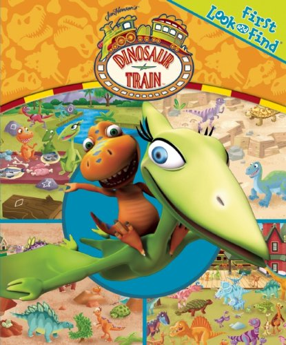 9781450819060: First Look and Find: Dinosaur Train