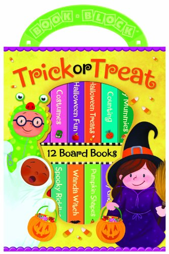 9781450819145: Trick or Treat 12 Board Book Block