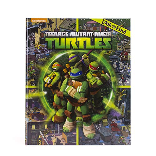 Teenage Mutant Ninja Turtles Look and Find