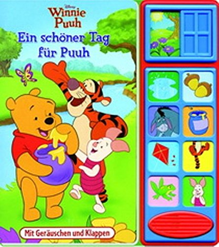 9781450820011: Klappen-Geräusche-Buch - Ein schöner Tag für Puuh