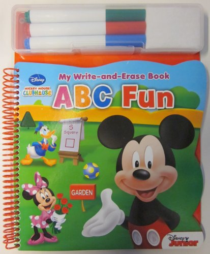 9781450820554: My Write & Erase Book ABC Fun Mickey