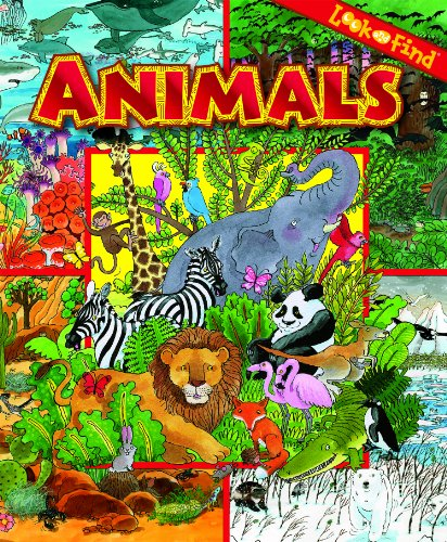 9781450821155: Animals (Look and Find)