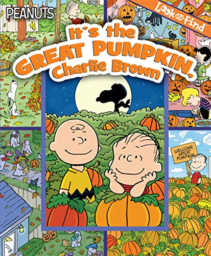 9781450821834: Look & Find Peanuts Great Pumpkin
