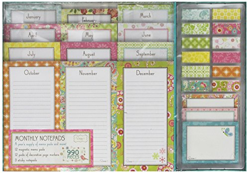 9781450822619: Monthly Notepads Mckenzie Fall