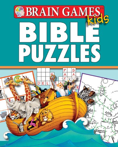 9781450822886: Brain Games for Kids: Bible Puzzles