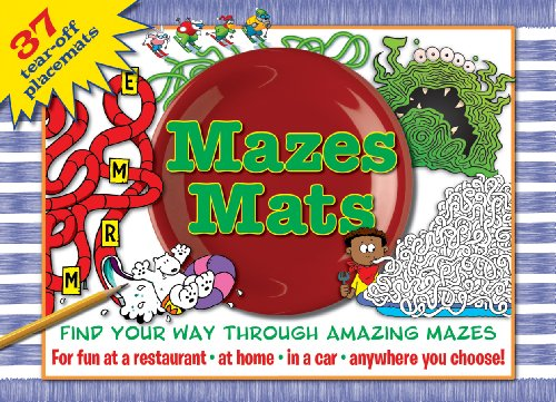 9781450824040: Mazes Mats for Kids