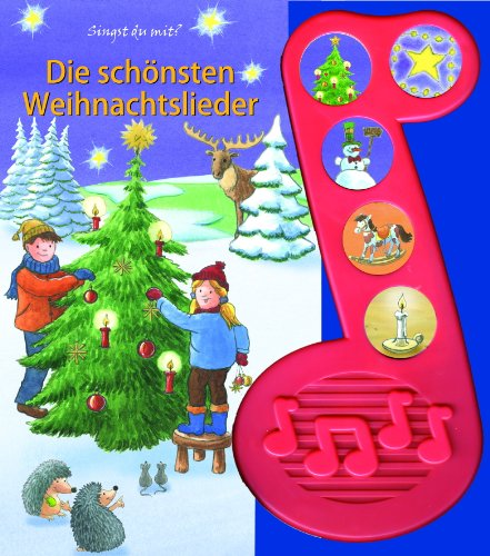 9781450828499: Die schönsten Weihnachtslieder. 5-Button-Soundbuch
