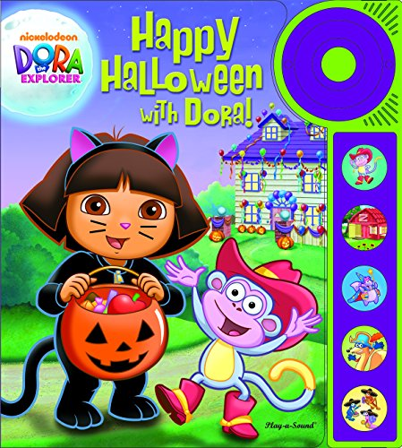 9781450830874: Happy Halloween with Dora! Little Doorbell Sound