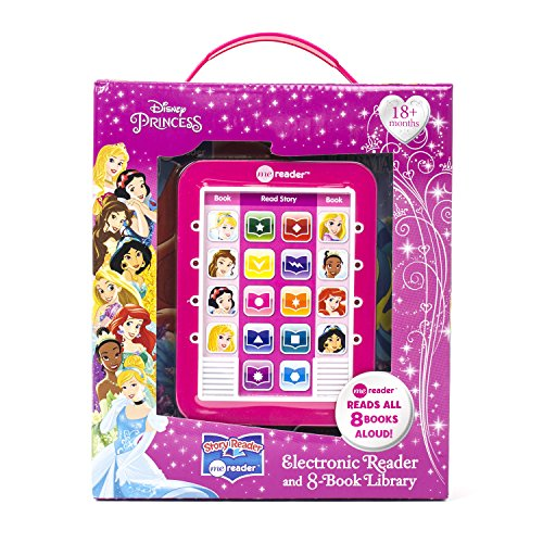 9781450830966: Disney Princess Me Reader Electronic Reader and 8-Book Library 4 inch