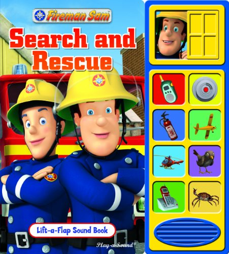 9781450833950: FireMan Sam (Lift-a-Flap Sound Book)