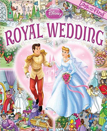 9781450835374: Disney Princess Cinderella Royal Wedding Look And Find