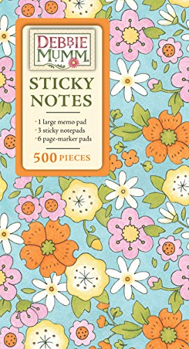 9781450836012: Book of Sticky Notes - Floral Fantasy