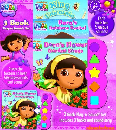 Nickelodeon, Dora the Explorer: King Unicornio; Dora's Rainbow Recital, Dora's Flower ...