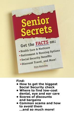 9781450838108: Senior Secrets (Get The Facts on: Health Care & Medicare, Retirement & Housing Options, Social Security Bebefits & Discount Travel & More)