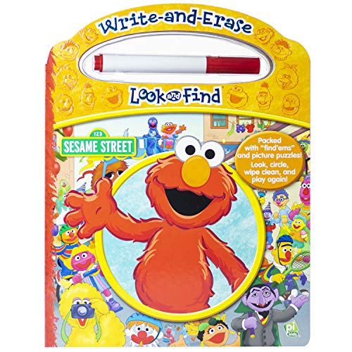 9781450840804: Sesame Street: Write and Ease Look and Find