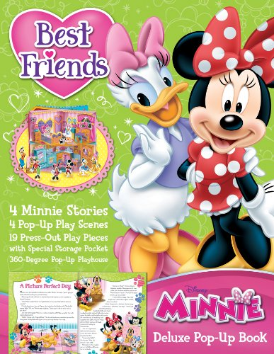 Best Friends Minnie Mouse Deluxe Pop-Up Book