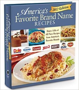 9781450846592: America's Favorite Brand Name Recipes 2012 Edition
