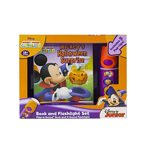 Mickey Mouse Clubhouse: Mickey's Halloween Surprise: Book and Flashlight Set: Editors of ...