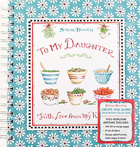 9781450850001: Recipe Keepsake Book - To My Daughter: With Love from My Kitchen