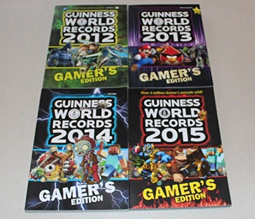 9781450852111: Guinness Book of World Records Gamer's Edition 4 Book Collection 2012 2013 2014 2015