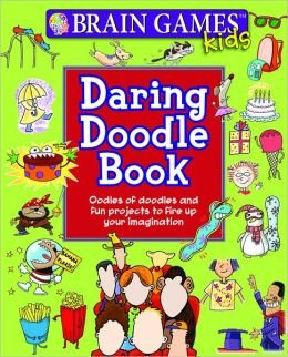 Daring Doodle Book (Brain Games Kids): n/a