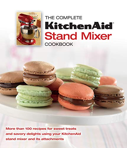 The Complete KitchenAid Stand Mixer Cookbook 9781450858403 The KitchenAid® stand mixer and its attachments can make quick work of anything from bread to bucatini. You may know it whips egg whites