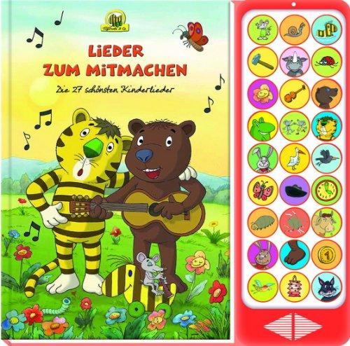 9781450859479: 27-Button-Soundbuch Lieder zum Mitmachen
