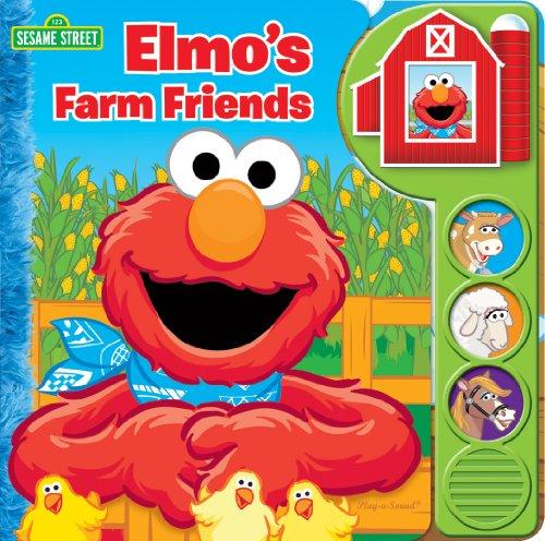 9781450860420: Sesame Street: Elmo's Farm Friends: Play-a-Sound