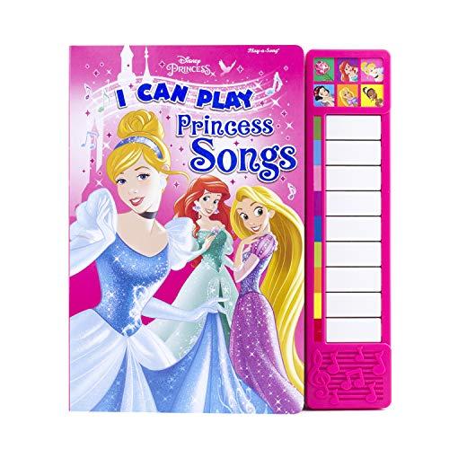 Disney Princess: I Can Play Princess Songs: Piano Sound Book (Little Piano Book): Editors of ...
