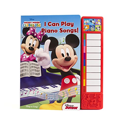 9781450860475: Mickey Mouse Clubhouse: I Can Play Piano (Little Piano Book)