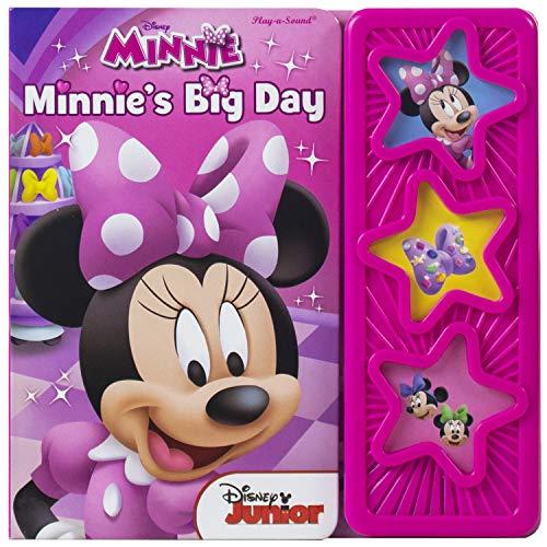 9781450861397: Disney Minnie's Big Day 3-Button Star Sound Book (9781450861397)